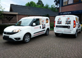Autobelettering barbeque boer